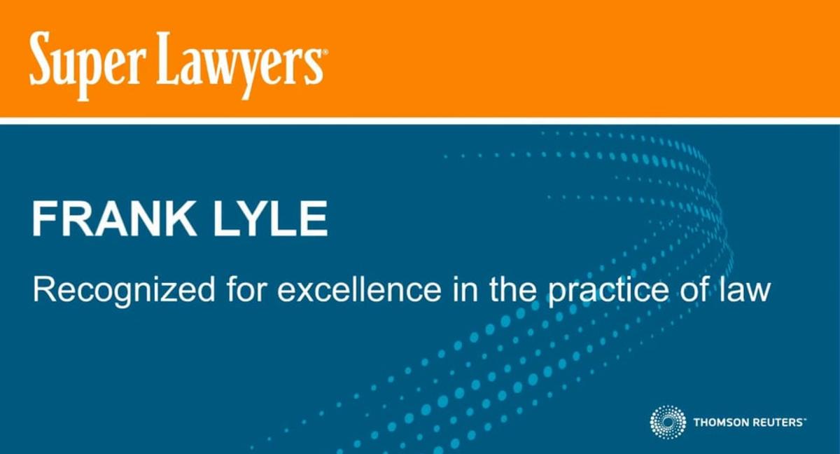 Frank Lyle Super Lawyers