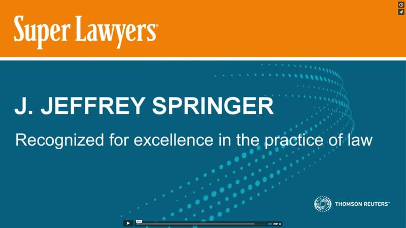 Jeff Springer SuperLawyer